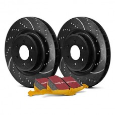 EBC® - Stage 5 Super Street Dimpled and Slotted Brake Kit